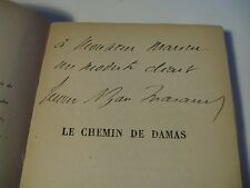 FRERES THARAUD CHEMIN DE DAMAS 1923 ENVOI Signé SYRIE PALMYRE ANTIOCHE ORIENT