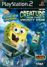 SpongeBob SquarePants: Creature from the Krusty Krab Sony PS2 3+ Action Game