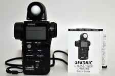 Seconic light meter L-758DR