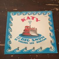 1973 Katy And The Big Snow by Virginia Lee Burton Scholastic 1st Printing