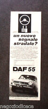[GCG] N988 - Advertising Pubblicità - 1969 - DAF 55 , AUTOMATIC VARIOMATIC