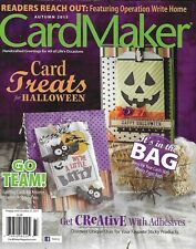 Card Maker Magazine Halloween Athletes Coaches and Sports Fans Paper Bag Ideas
