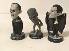 Sideshow Monsters Little Big Heads The Mummy Phantom of Opera Dracula Lot