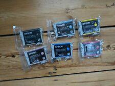 Epson Claria T0807 Hummingbird Genuine Multipack Ink Cartridges