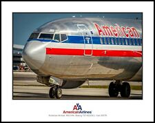 American Airlines Legacy Boeing 737 Nose N931AN 11x14 Photo (UU125LGJM11X14)