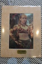 Gabrielle ''AMAZON QUEEN'' Limited Edition Chromium Print  No 1763 of 2500
