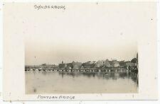 Sønderborg, pontoon bridge