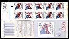 """STATI UNITI - Libretto - 1992 - Copertina azzurra """"Bandiera"""" - Libr. da $ 2,90"""