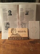 1993 Pro Football Hall of Fame, Enshrinees Civic Dinner Program & Dinner Tickets