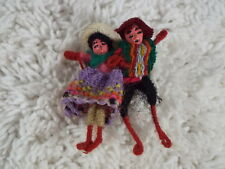 Mexican String People Pin (D18)