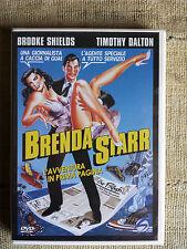 Brenda starr - Brooke Shields, Timothy Dalton - DVD  nuovo sigillato