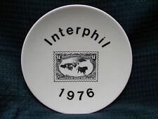 "1976 Interphil International Philatelic Exhibition 6 1/2"" Collector Plate 20076"