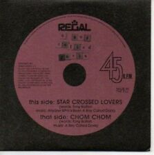 (AR847) A Boy Called Doris, Star Crossed Lovers - DJ CD