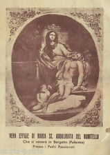 SICILIA_PALERMO_BORGETTO_PADRI PASSIONISTI_MADONNA ADDOLORATA_STAMPA DEVOZIONALE