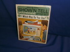 Vintage GE Show'N Tell Which Map Do You Use? Picturesound Program 1965