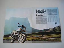 advertising Pubblicità 1983 MOTO BMW R65 R 65 LS