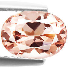 3.50ct Flawless 100% Natural earth mined extremely rare aaa peach pink morganite
