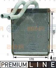 8FH 351 315-321 HELLA Heat Exchanger  interior heating