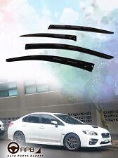 For Subaru WRX STI 14-19 Deflector Window Visors Guard Vent Weather Shield