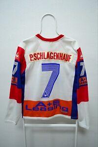 EHC Kloten Flyers Le Coq Sportif Hockey Jersey Switzerland P. Schlagenhauf #7