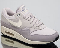 Nike Air Max 1 Men's New Vast Grey Sail Casual Lifestyle Sneakers AH8145-011