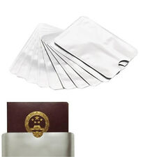 10PCS Aluminum Safety Anti Theft Credit Card Protector Sleeve Case Holder ca