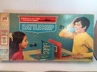 Milton Bradley Battleship Board Game 100% Complete Vintage 1971