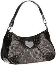 XOXO City Love Reptile Embossed Shoulder Bag