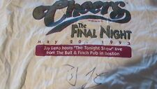 """CHEERS-TV SHOW-""""""""THE FINAL NIGHT""""-MAY 20,1993-W/ JAY LENO AUTOGRAPH-TONIGHT SHOW"""