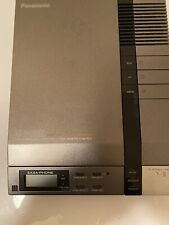 Panasonic KX-T1470 Phone Answering Machine 2 Cassettes Remote Access Time Stamp