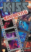 KISS - Konfidential - VIDEO VHS - Neu OVP