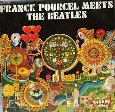 """FRANK POURCEL - MEETS THE BEATLES LP 12"""" SPAIN 1970 GOOD CONDITION"""