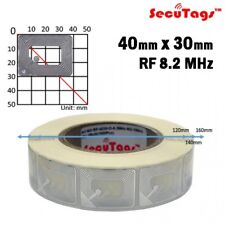 Anti theft Eas 8.2Mhz Checkpoint Clear Square Soft Labels (30x40), 20000pcs/Cs