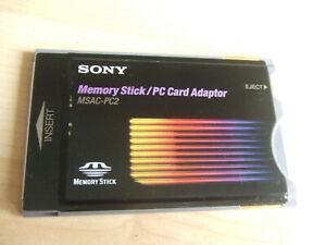 Sony PCMCIA Memory Stick Reader (MSAC-PC2) Video Camera DSR-PD100AP Poss Others