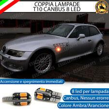 COPPIA LAMPADE FRECCE LED LATERALI BMW Z3 E36 T10 CANBUS NO ERRORE