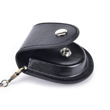 PU leather pocket watch holder storage cases coin purse pouch bag with chains SP