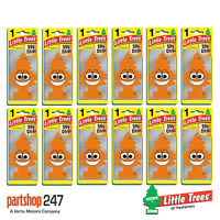 12 x Silly Citrus Little Trees Magic Tree Car Home Air Freshener Freshener