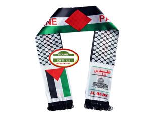 Palestine flag scarf,Jerusalem,Neck Fashion Arabian Scarf Shawl Shemagh,keffiyah