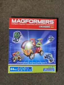 Magformers Cruisers Magnetic Building Blocks Car Vehicle Set Toy 44 Pieces NEW
