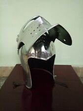 Medieval Knight Helmet - re-enactment / larp / role-play / fancy-dress