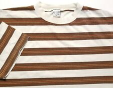 New listing Vintage 1990s Anchor Blue Striped Surf Skate Made in USA Large Shirt