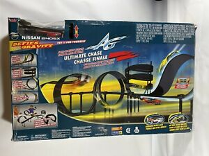 Vintage Artin Ultimate Chase Super Nissan SLOT CAR 240SX 33 Feet Of Track 80's