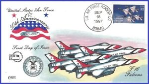 USA7 #3167 U/A COLLINS HAND PAINTED FDC   Department of the Air Force