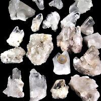 1 kg große Bergkristall Stufen / Gruppen & Spitzen wie gefunden - Natur pur