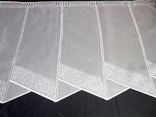 Moderne 16 cm breite Scheibengardine Kurzgardine Panneaux