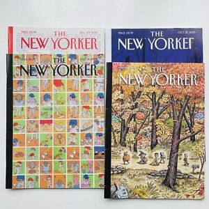 The New Yorker Magazine - October/December 2019 - 4 Issues - FREE POST