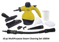 Quest Handheld Multipurpose Steam Cleaner 1000W - Window, Tiles, Grease & Grime