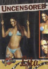 LITA 2004 Fleer WWE DIVAS 2005 UNCENSORED Insert Card #10DU
