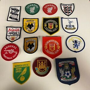 Football Team Iron On/Sew On Patches - Man U/Cov City/Liverpool/Spurs/Wolves+++