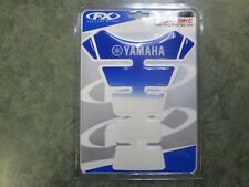 Yamaha Tank Pad By Factory Effex Blue And White Yamaha Logo VFE-15572-10-00